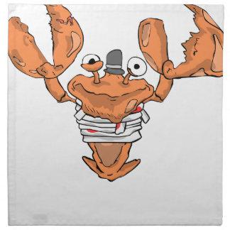 Crab Monster love Napkin
