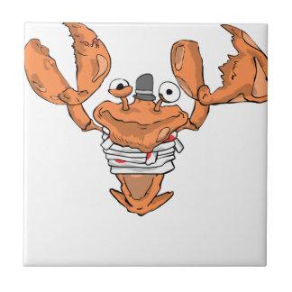 Crab Monster love Tile
