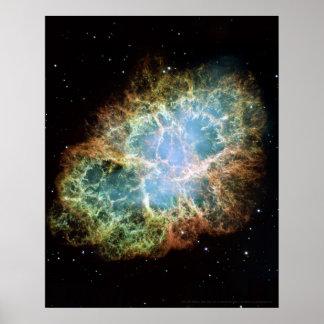 Crab Nebula 16x20 (12x18) Poster