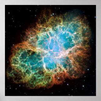 "Crab Nebula [24"" x 24"" Print] Poster"