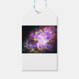 Crab Nebula Gift Tags