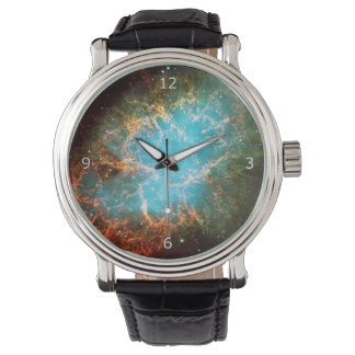 Crab Nebula in Taurus - outer space picture Watch