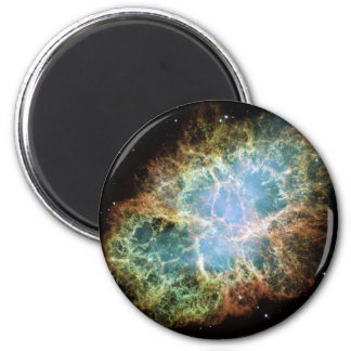 Crab Nebula Magnent 2 Inch Round Magnet