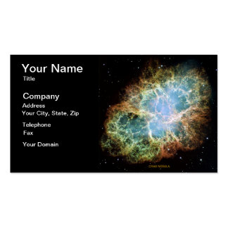 Crab Nebula Pack Of Standard Business Cards