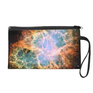 Crab Nebula Space Wristlet Clutch
