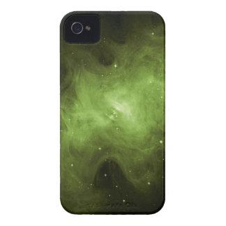 Crab Nebula, Supernova Remnant, Green Light Case-Mate iPhone 4 Case