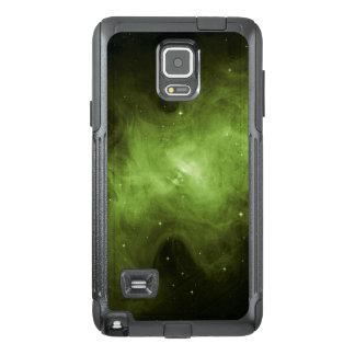 Crab Nebula, Supernova Remnant, Green Light OtterBox Samsung Note 4 Case