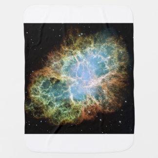 Crab Nebula Swaddle Blanket