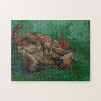 Crab on its Back by Van Gogh Jigsaw Puzzle