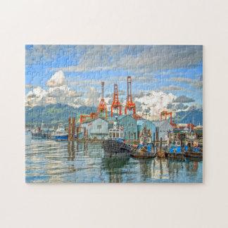 Crab Park Vancouver. Jigsaw Puzzle