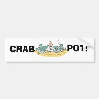 Crab Pot Bumber Sticker