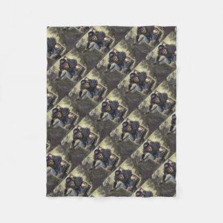 Crab Scout.tif Fleece Blanket