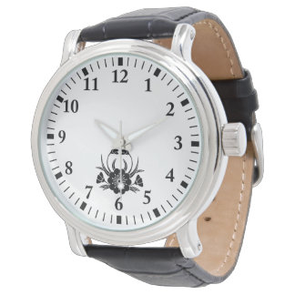 Crab-shaped cherry blossom watch