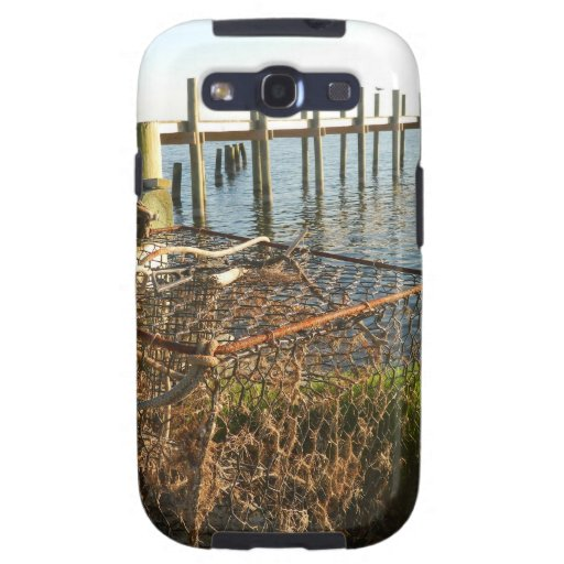 Crab Trap and Dock at Sunset Samsung Galaxy S3 Case
