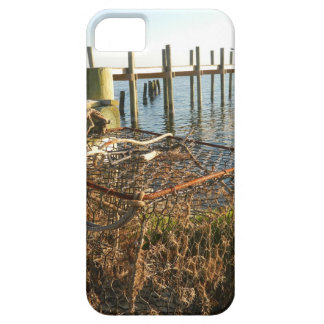 Crab Trap and Dock at Sunset iPhone 5 Cases