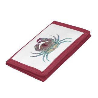 Crab Tri-fold Wallets