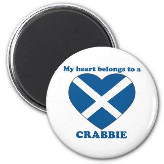 Crabbie Refrigerator Magnet