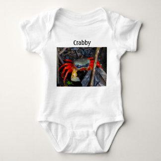 Crabby Baby Baby Bodysuit