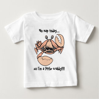 crabby!  Baby text! Tshirts