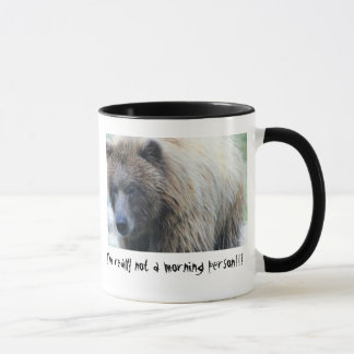 Crabby Bear Large Coffee Mug