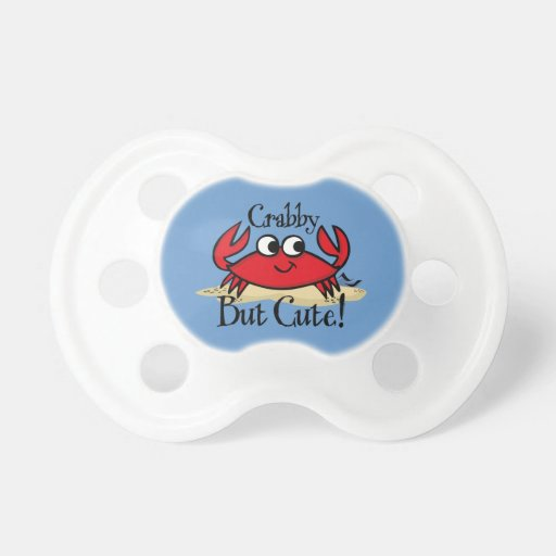 Crabby But Cute Baby Pacifiers