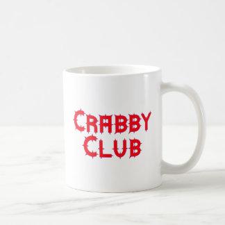 Crabby club mugs