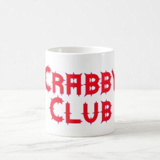 Crabby club coffee mug