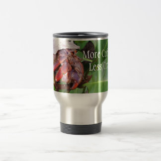 Crabby Coffee 15 Oz Stainless Steel Travel Mug