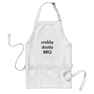 crabby daddy BBQ Standard Apron