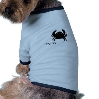 crabby dog tee