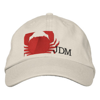 Crabby Embroidered Hat