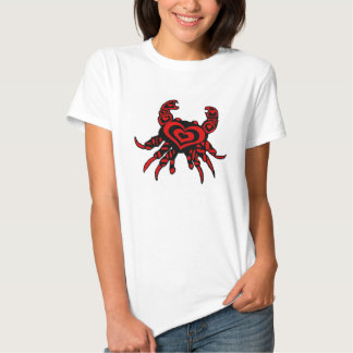 Crabby Heart lady's shirt