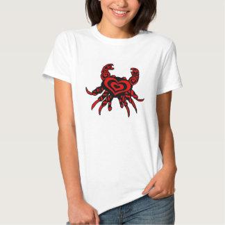 Crabby Heart lady's shirt