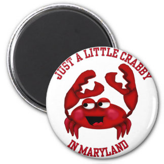 Crabby in Maryland Magnet