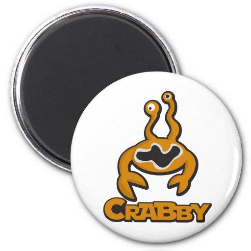 Crabby Refrigerator Magnets