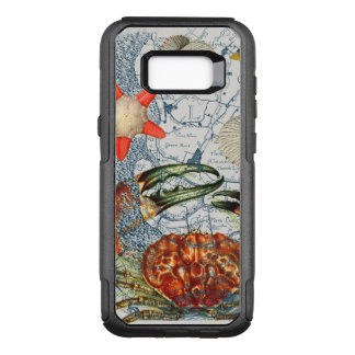 crabby map starfish OtterBox commuter samsung galaxy s8+ case