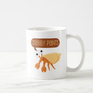 Crabby Pants Funny Coffee Mugs