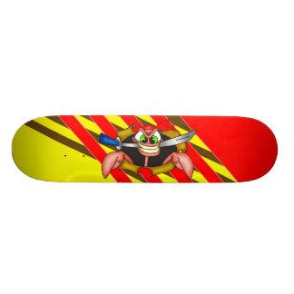 Crabby Pirate Custom Skate Board