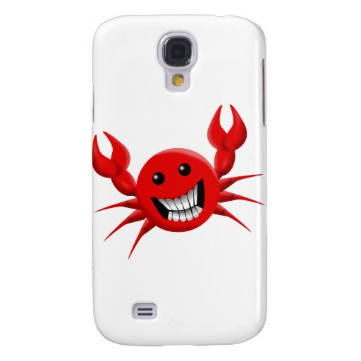 Crabby Smile Samsung Galaxy S4 Covers