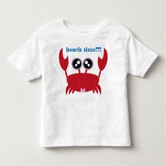 Crabby's Beach Tee! Toddler T-shirt