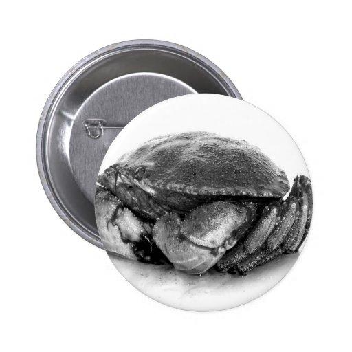 Crabe de roche de la Nouvelle Angleterre II Pin's Avec Agrafe