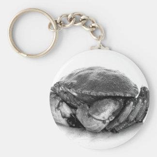Crabe de roche de la Nouvelle Angleterre II Porte-clé Rond