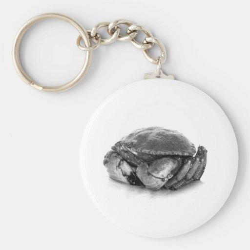 Crabe de roche de la Nouvelle Angleterre II Porte-clefs