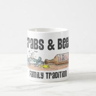 Crabs and Beer Mug