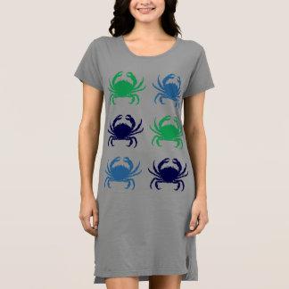 Crabwear Women's T-Shirt Beach Dress