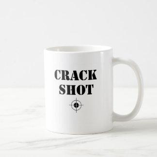 crack shot coffee mug