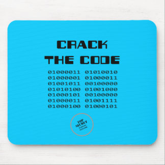 Crack the Code Mouse Pad