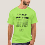 Crack the Code t-shirt
