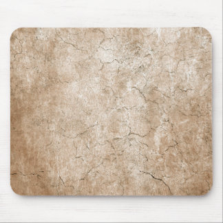 Cracked Aged and Rough Brown Vintage Texture Mouse Pad