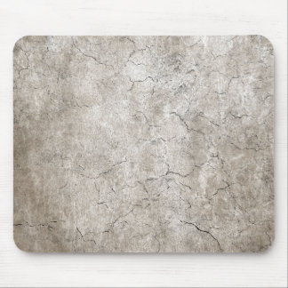 Cracked Aged and Rough Gray Vintage Texture Mouse Pad